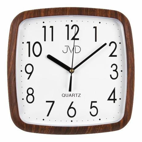 Nástenné hodiny quartz drevo 615 25cm,