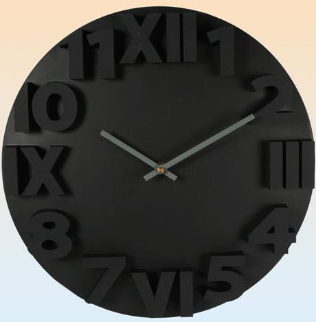 Nástenné hodiny RimArab, 34cm,