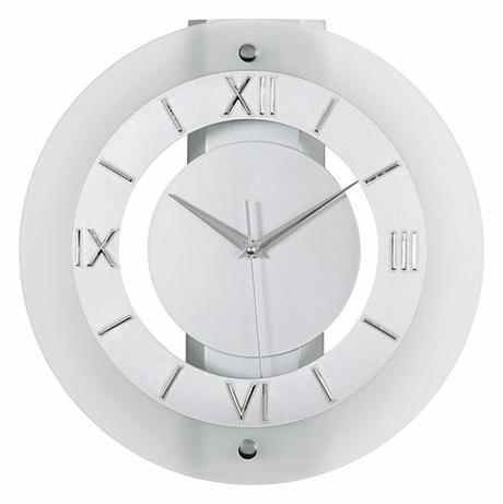 Nástenné hodiny sklene N12.1-11.1 32cm,