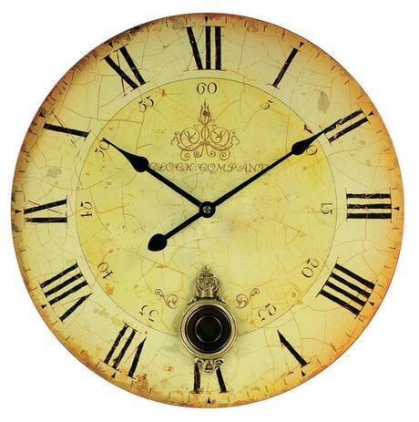 Nástenné hodiny Techno Line s kyvadlom, 34 cm,