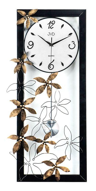Nástenné kyvadlové hodiny dizajn JVD HJ69 71cm,