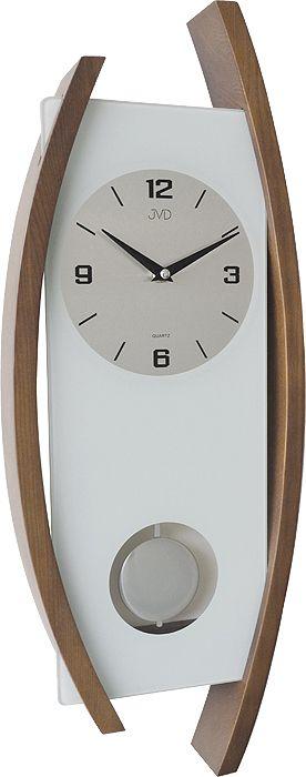 Nástenné kyvadlove hodiny JVD N12091.11  59cm,