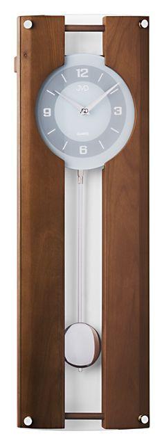 Nástenné kyvadlové hodiny JVD quartz N12010.11 60c,