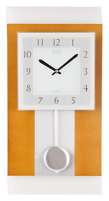 Nástenné kyvadlové hodiny JVD quartz N20111/41 50c,