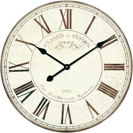 Nástenné retro hodiny Techno Line, Gaston 50 cm,
