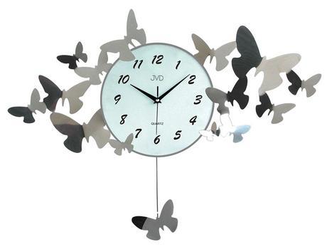 Nátenné motýlikové hodiny ,
