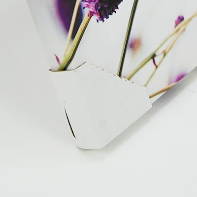 Obraz na plátne 30x30cm RUŽA fialovy,