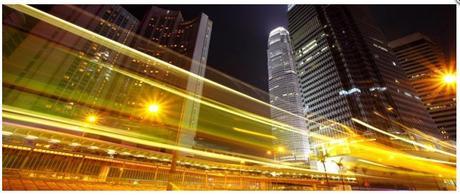 Obraz na plátne 38x100cm HONG KONG ,