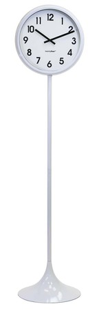 Podlahové hodiny Balvi Jazz biele 171/40cm,