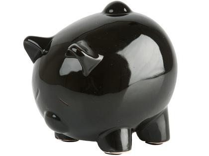 Pokladnička prasiatko čierne,