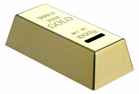 Pokladnička Zlata Tehlička,
