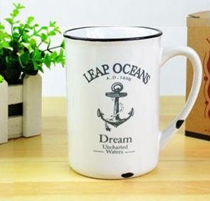 Porcelánový retro hrnček - Ocean,