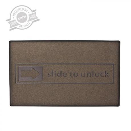 Rohožka BALVI Slide To Unlock 45x75cm,