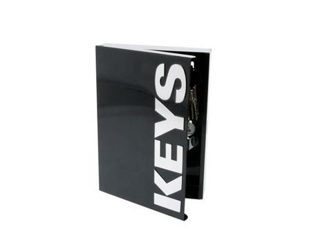 Skrinka na kľúče Keys čierna,