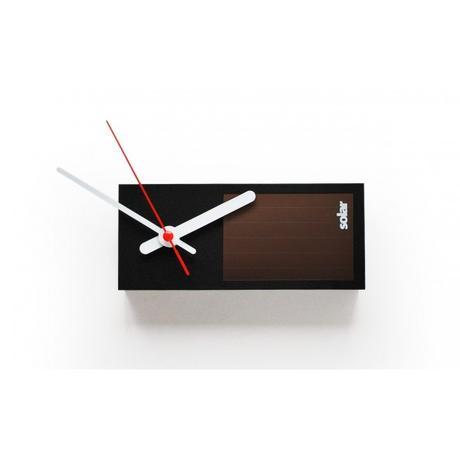 Solárne hodiny SUCK UK Solar Clock,
