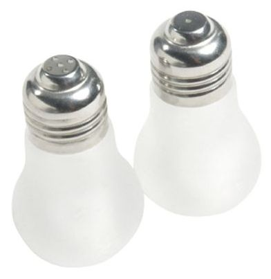Soľnička a korenička Invotis Light Bulbs,