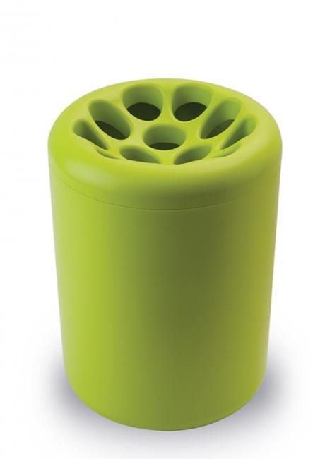 Stojan na dáždniky Qualy Lotus Root, zelený,