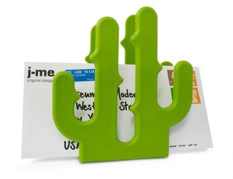 Stojan na dopisy J-ME Kaktus zeleny,