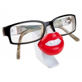 Stojan na okuliare Ústa,