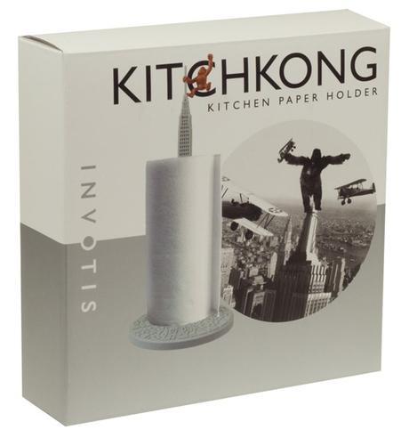 Stojan na papierové utierky INVOTIS King Kong 40cm,