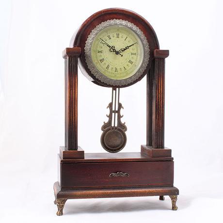 Stolové kyvadlové hodiny Antik, 47cm,