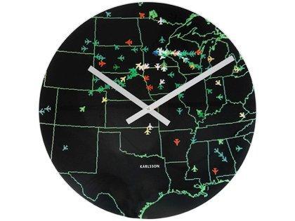 Tieto konkrétne nástenné hodiny s číselníkom, na k,