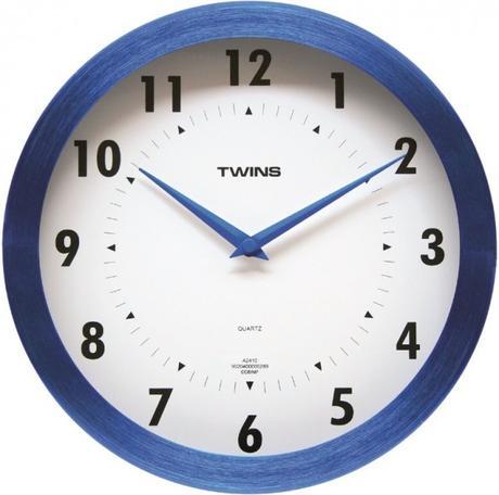 Twins hodiny 2410 modré 25cm,