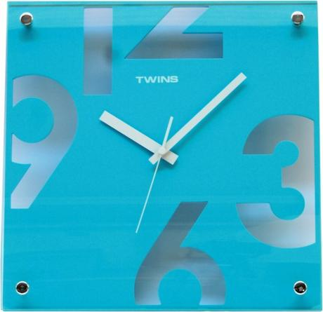 Twins hodiny 5080 modre 30cm,