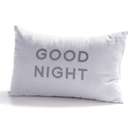 Vankúš GOOD NIGHT biely,