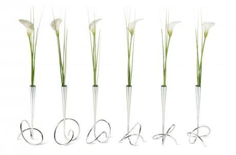 Vázička s kvetinou BLACK-BLUM Flower Loop,