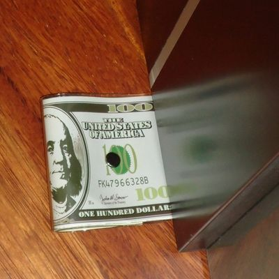 Zarážky na dvere Bankovky 100eur, 100dollar, 20dol,