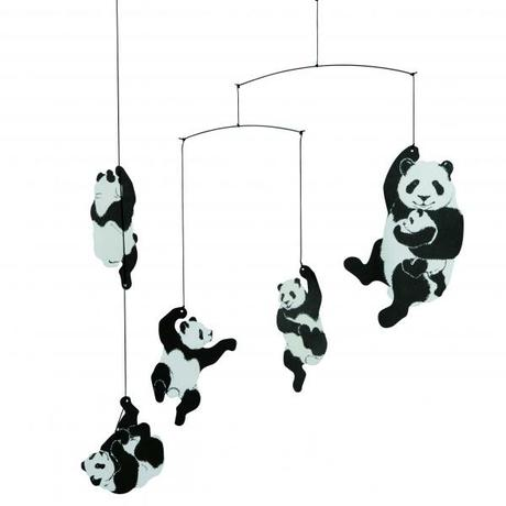 Zavesna Dekoracia Panda,