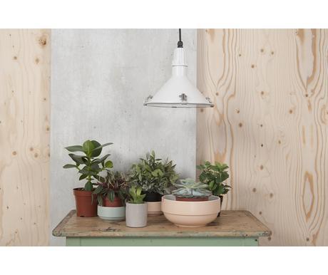 Závesná lampa Leitmotiv INSIDE OUT biela,