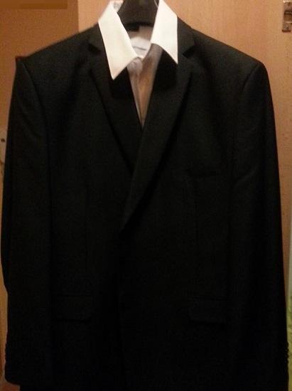 Spolocensky oblek+ viazanka grátis, 56