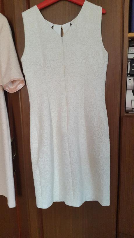 Spoločenské šaty - ivory - šampaň - bledé, 38