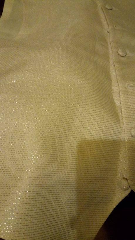 Vestička  bez kravaty velkost M/L, 42