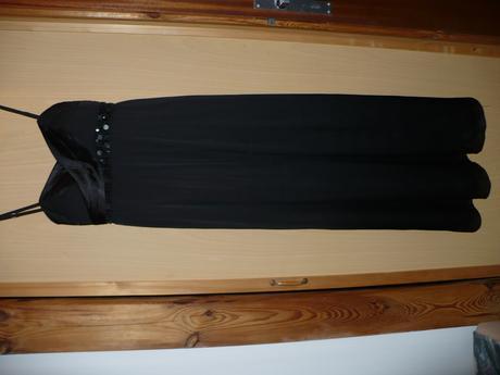 dlhé čierne šaty 38, 40
