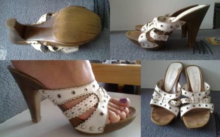 korkové sandálky, 36