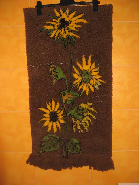 Závěsná dekorace-slunečnice,