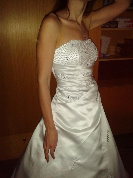 Svatební šaty vel. 34 - 38, 36