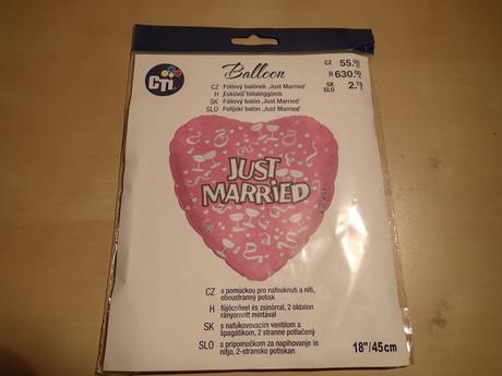 Balonek Just Married,