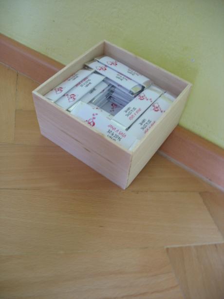 Krabička na žvýkačky,