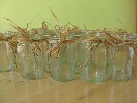 Skleničky na vázy, svícínky,