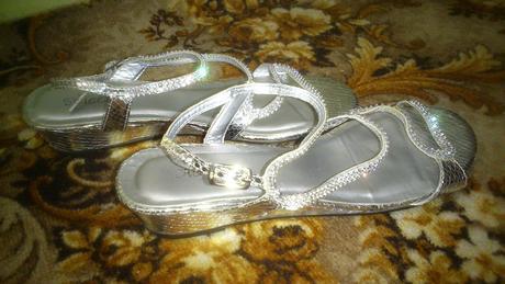 kamienkové luxusné sandálky, 39