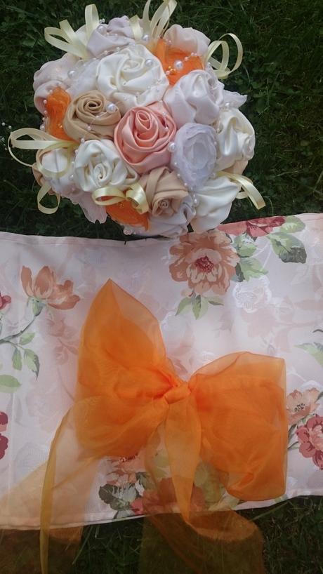 Jesenná ivory - oranžová výzdoba,
