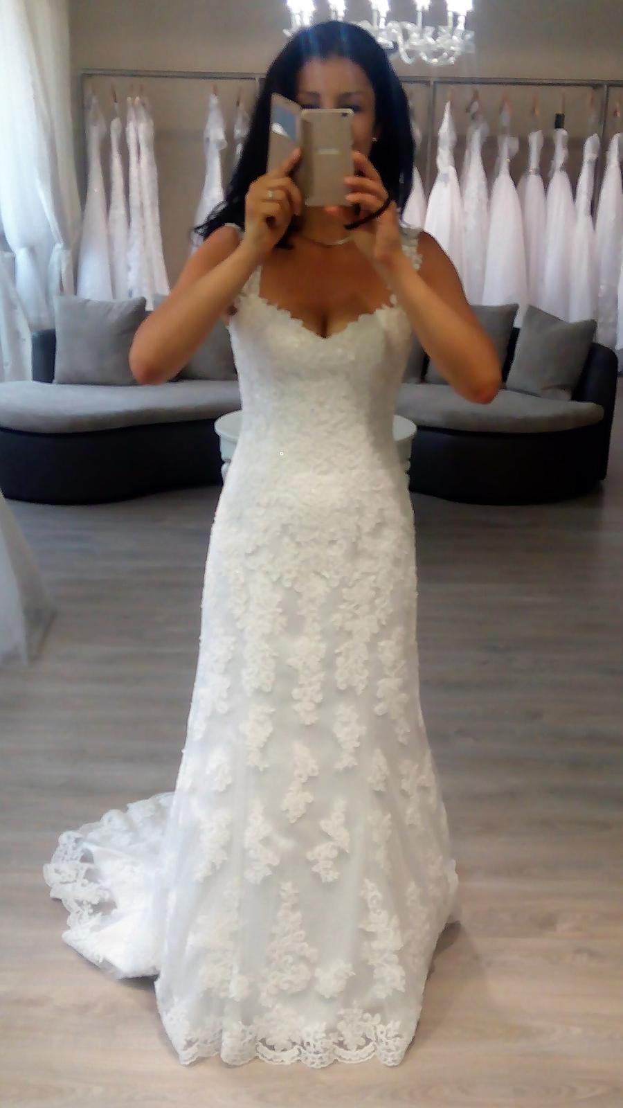 036154c3a704 Svadobné šaty biele