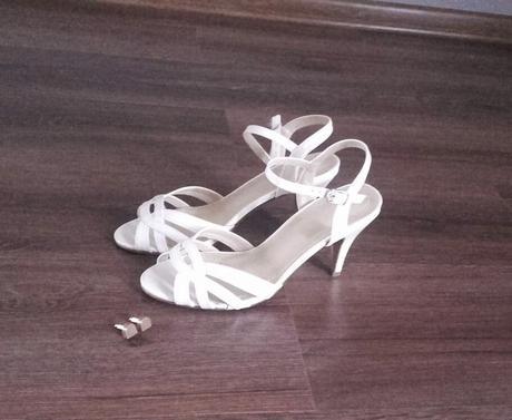 sandalky vhodne aj pre nevestu, 37