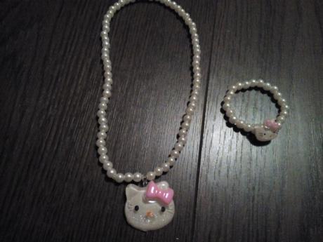 set náhrdelník a náramek Hello Kitty, 104