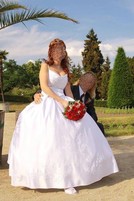 Princeznovské svatební šaty vel. 38, 38