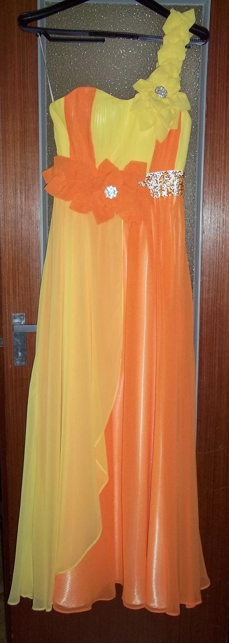 zlto-oranzove saty, 38